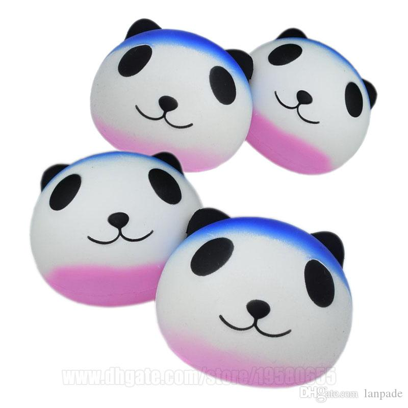 Panda Squishy Imitation Perfume Sweet Bearcat Toys Jumbo Squishies Kawaii Child Large Decompression Slow Rising Free Shipping