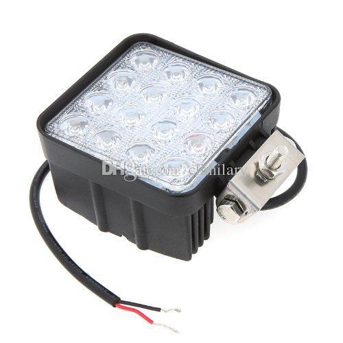 / Promo Promotoion! 4,5 lumière de voiture de faisceau d'inondation LED de lumière de travail d'inondation de lumière de travail de 12V 24V de pouce de 48W pour des travaux de la route d'utilisation LED s'allume pour des camions