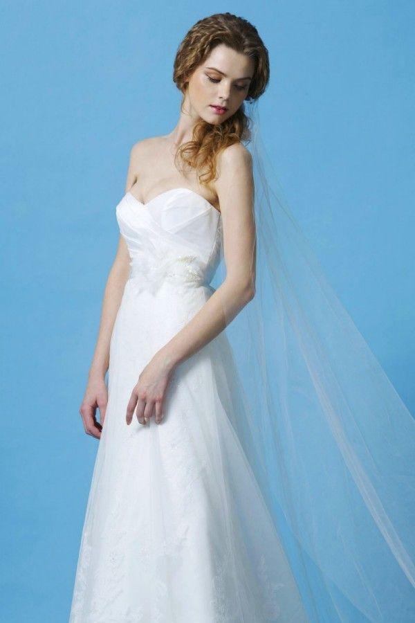 Simples Uma Camada de Tule Véu Vestido de Casamento Acessórios Véu Branco Tornozelo Comprimento Véus de Noiva com Pente de Cabelo