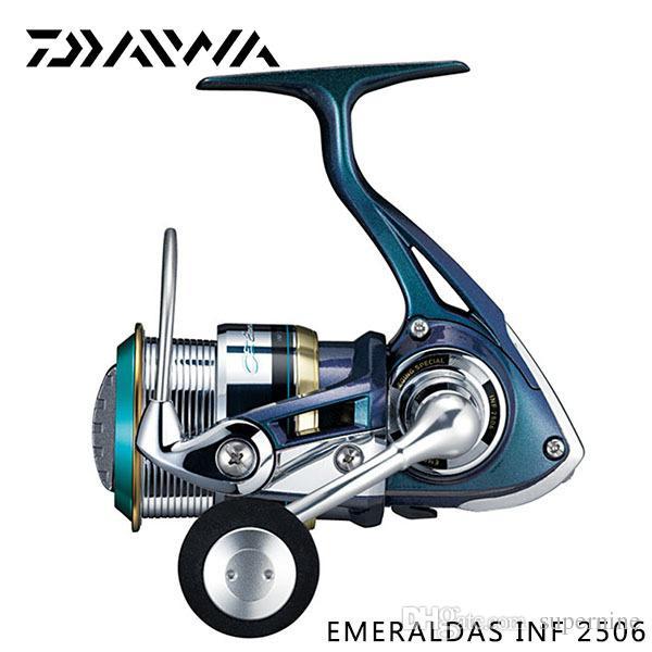 2019 Free Ems Daiwa Brand Emeraldas Inf 2506 Fishing Spinning Reel 6