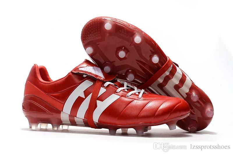 2019 Nuevo Predator Mania Champagne FG Tacos de fútbol Zapatos Botas de fútbol Zapatos de fútbol deportivos Botas de fútbol Boos Tamaño 39-45 Envío gratis