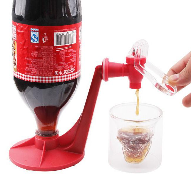 Creative Upside Down Beverage Fountains Portable Orange Juice Drink Switch  Magic Taps Home Soda Water Dispenser Without Power Source Water Dispenser  Juice ...