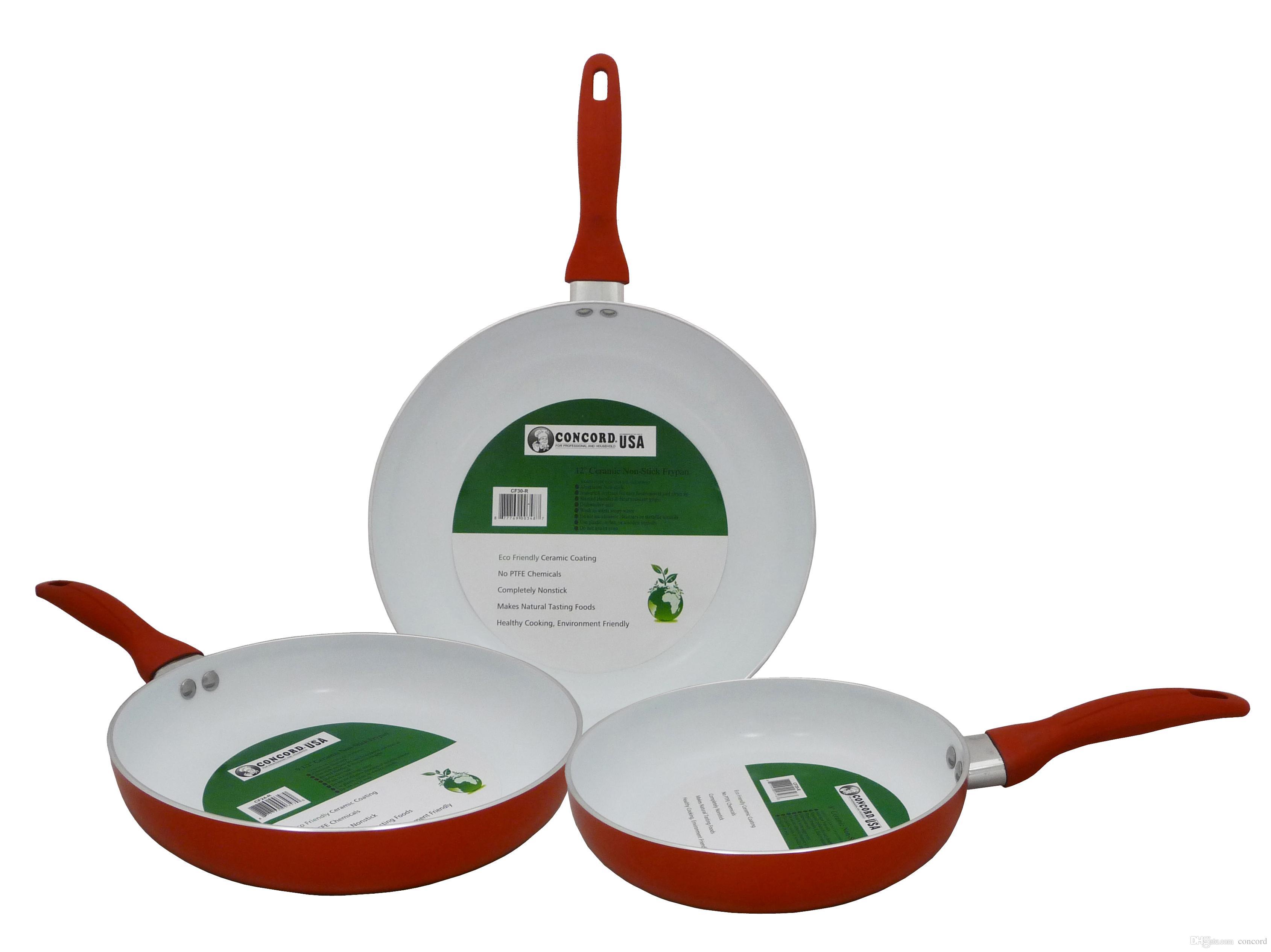 Concord Eco Friendly Healthy Ceramic Nonstick Fry Pan