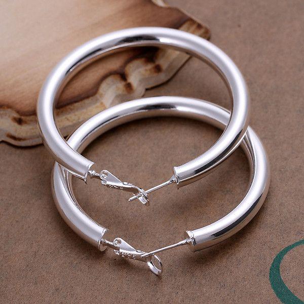 Brandneue Sterling Silber Überzogene 5mm Soramimi Ring DFMSE149, Damen 925 Silber Danle Kronleuchter Ohrringe 10 Paare viel