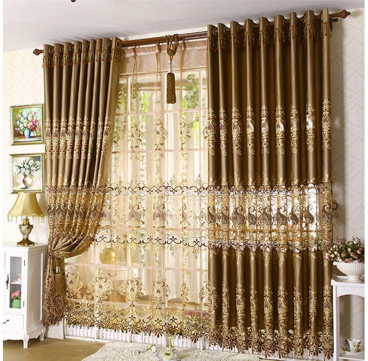 Best Quality 2015 New Cortina Cortinas Home Decor