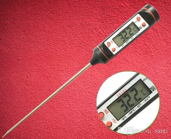 Neu kommen Digital Cooking Food Probe Fleisch Küche BBQ wählbar Thermometer
