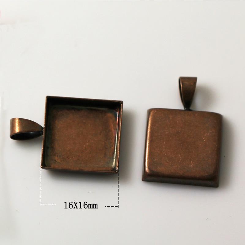 Beadsnice подвесные лотки круг пустой ободок установка подходит для кабошон и смолы ювелирные аксессуары латунь подвеска база