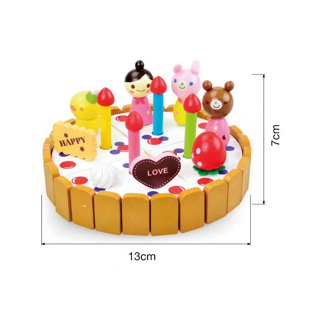 Großhandel Holz Kuchen Spielzeug Set Rolle Spielen Spielzeug Für ...