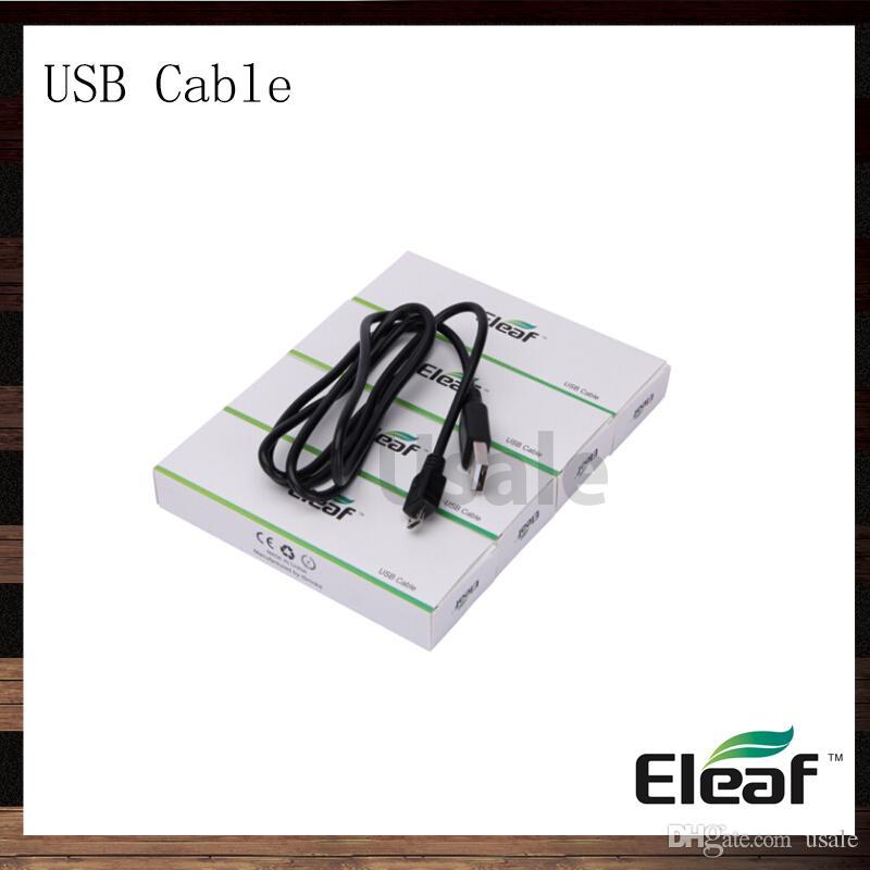 Eleaf iStick USB Cable Charger For iSmoka eleaf iStick 20w 30w 50w mini 10w Battery Box Mods 100% Original