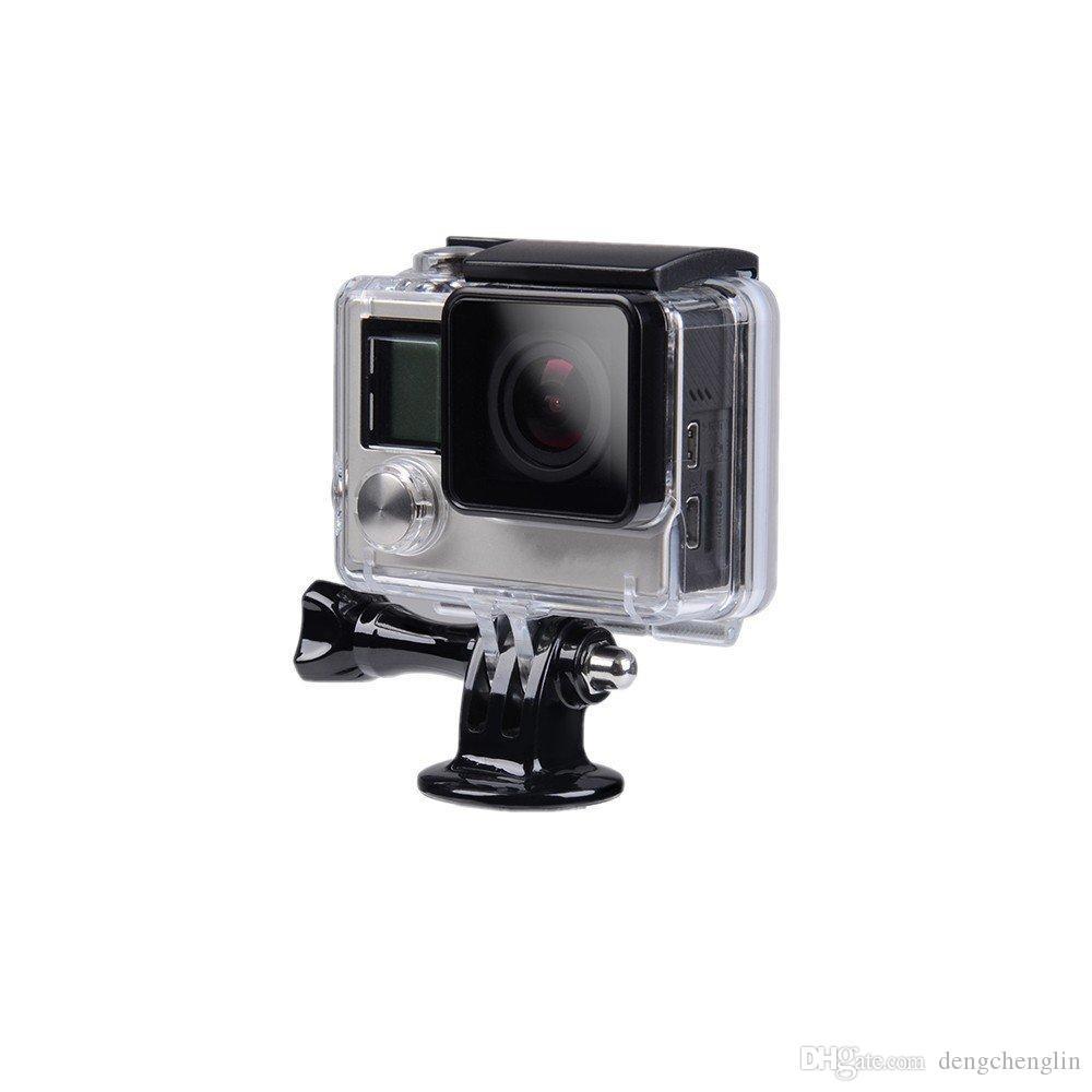 삼각대 장착 커넥터 및 스포츠 카메라 어댑터 긴 나사가있는 모든 스포츠 카메라 용 액세서리를 부착하십시오