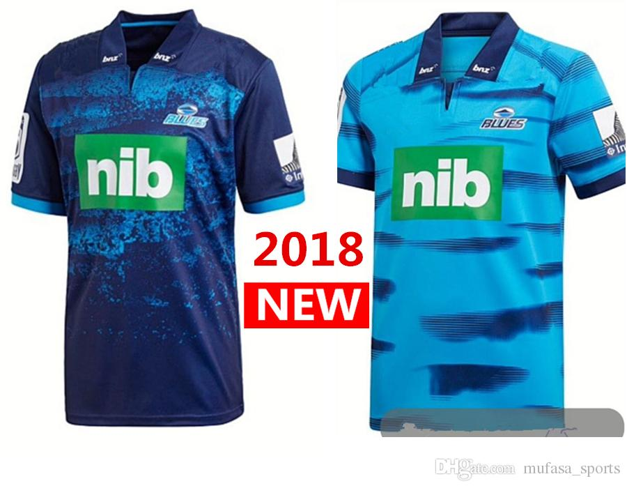 c49ec567b Newest Blues 2018 2019 Home Away Rugby Jerseys NRL National Rugby ...