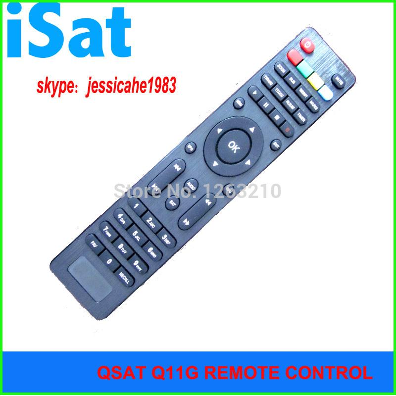 FREE SHIPPING QSAT Q SAT Q11G Q13GQ15G Q23G GPRS dongle/Decoder DVB-S2  remote control for Africa
