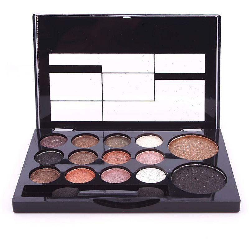 14 Color New Hot Makeup Natural Nude Warm Matte Eyeshadow+Blush Maquiagem Cosmetic Eye Shadow Palette Set #67194