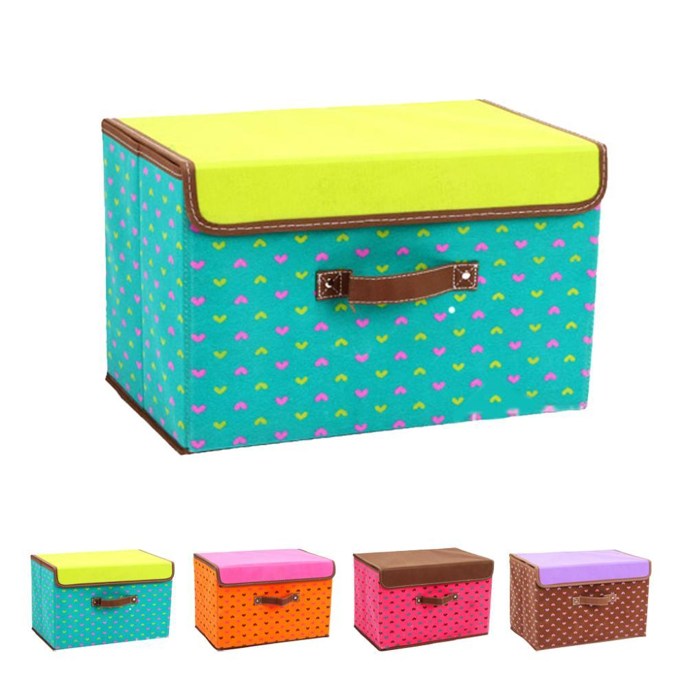 Folding Cloth Underwear Storage boxes Nonwoven Fabric Organiser Bag large Utility Household Storage with Cover  sc 1 st  DHgate.com & 2018 Folding Cloth Underwear Storage Boxes Nonwoven Fabric ... Aboutintivar.Com