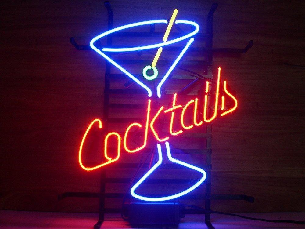 2019 New Cocktails Light Neon Beer Sign Bar Pub Sign Real