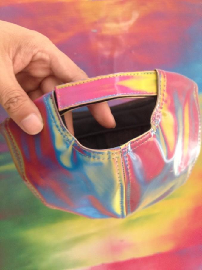 미래로 돌아 가기 Marty McFly 코스프레 모자 색 변경 무지개 조절 가능한 모자