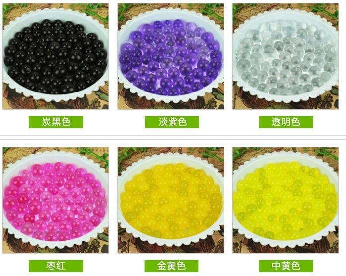 9000g/3000pack Magic Plant Crystal Soil Mud Water Beads Pearl ADS Jelly Crystal ball soil O