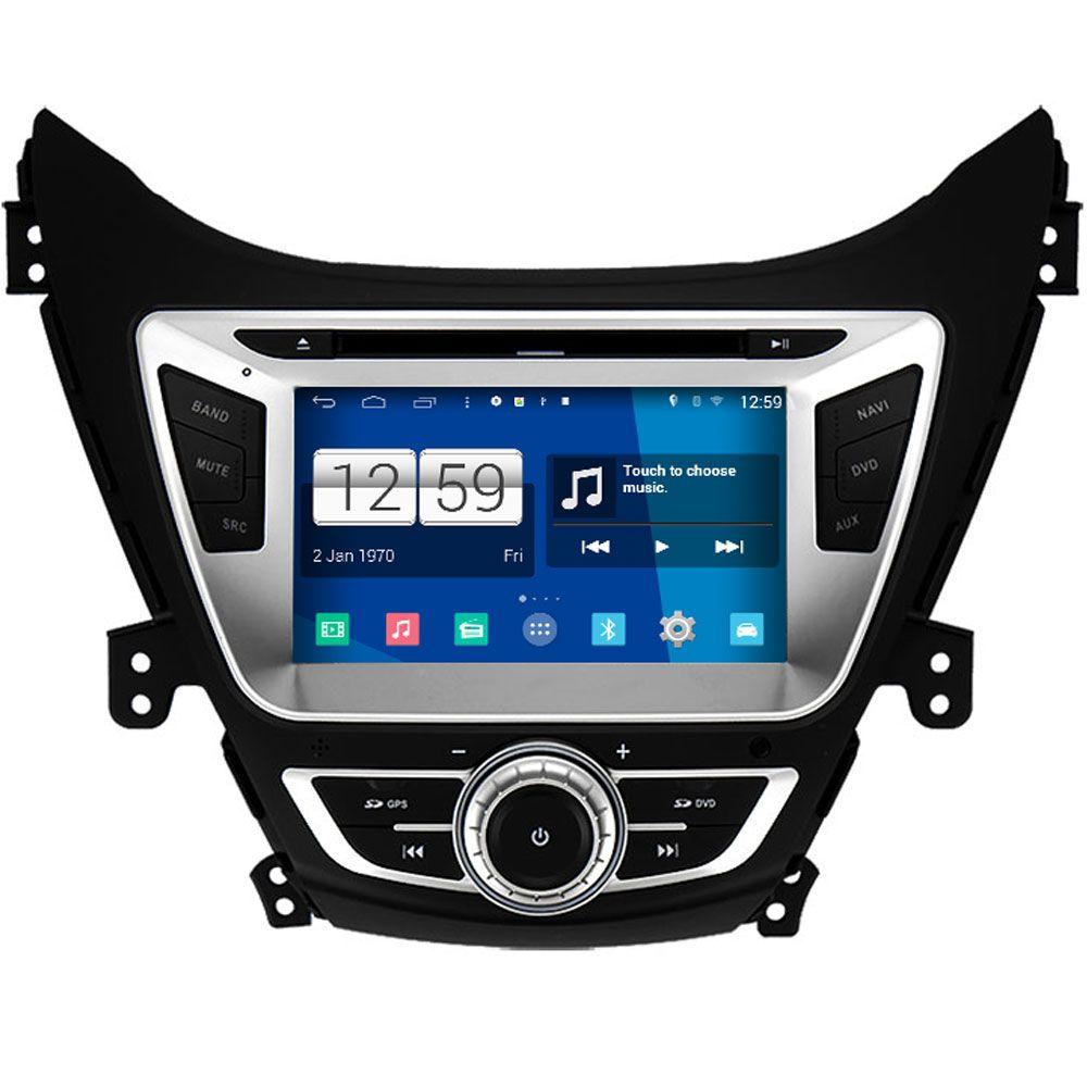 Winca s160 android 4 4 system car dvd gps headunit sat nav for hyundai elantra 2011