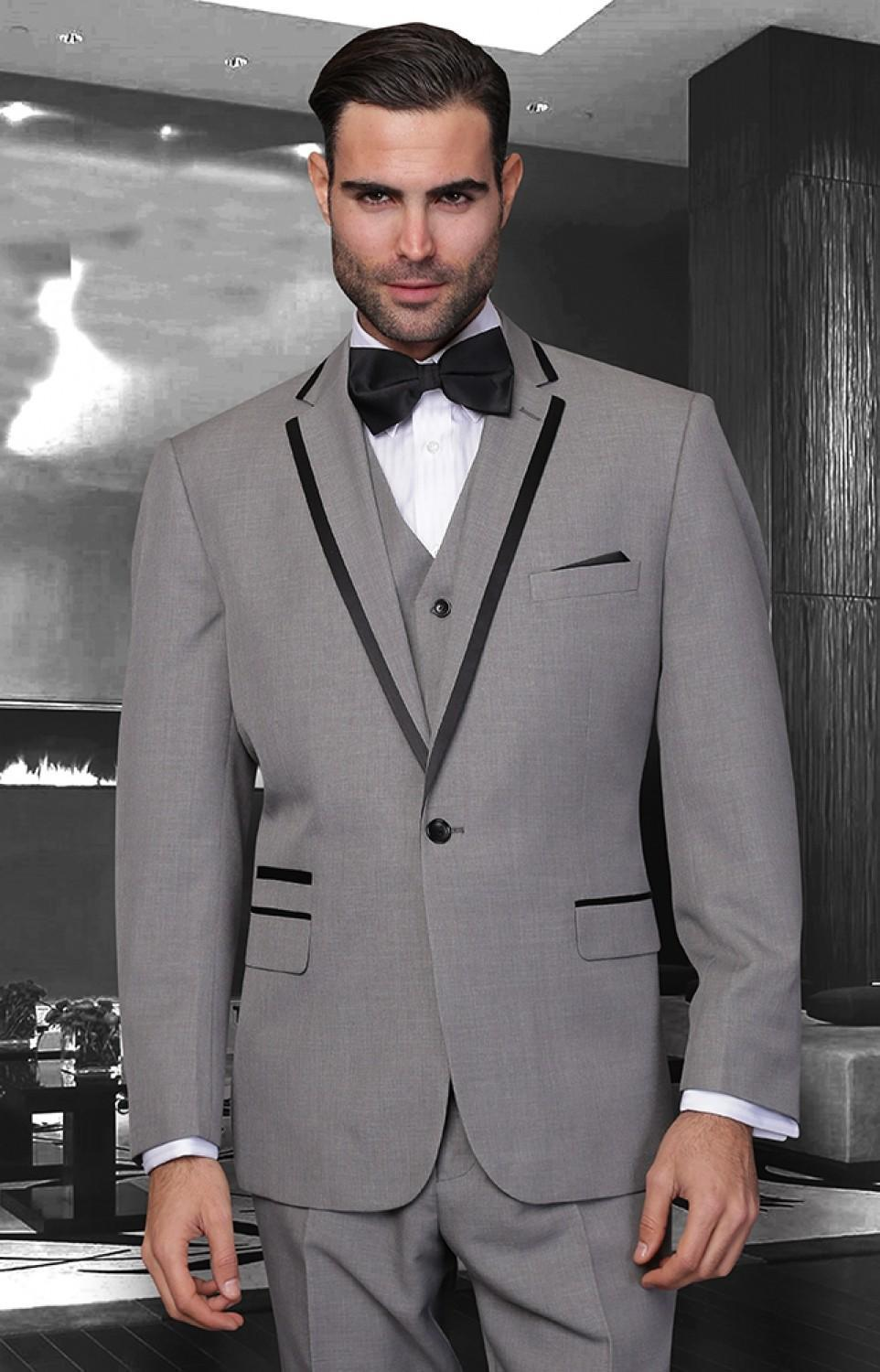Groom Suits 2015 Tuxedos For Wedding Peak Lapel Groom Suits Handsome ...
