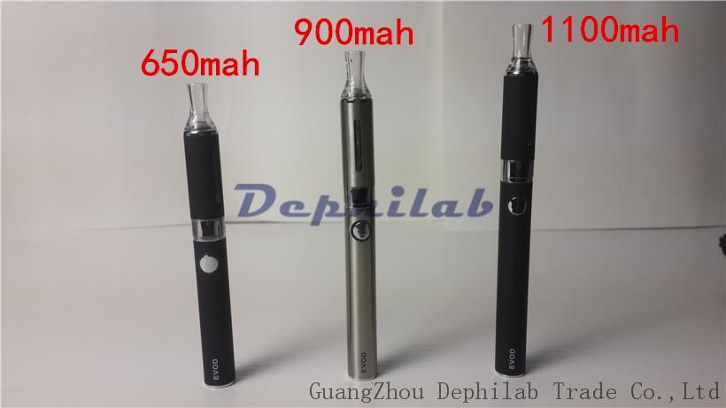Evod Starter Kit Electronic Cigarette Vaporizer Blister Package With EVOD Battery 650mAh 900mAh 1100mAh MT3 Atomizer USB Charger E-Cig kits
