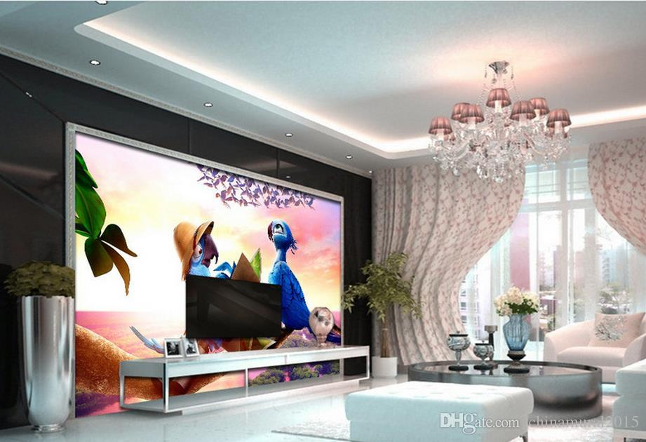 Ecustom photo 3d wallpaper uropean architecture flowers mural 3d fondo de pantalla