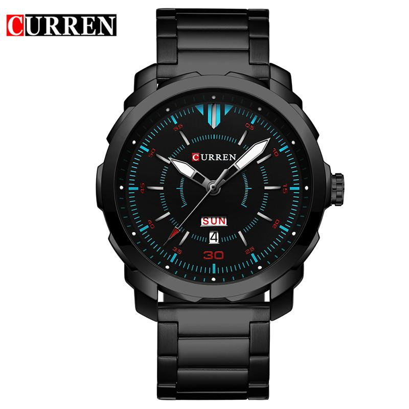 7e1ad1cd240 Curren Watch Men 2017 Top Brand Luxury Relogio Masculino Quartz Watch  Fashion Casual Auto Date And Calendar 8266 Trendy Watches Affordable  Watches From ...
