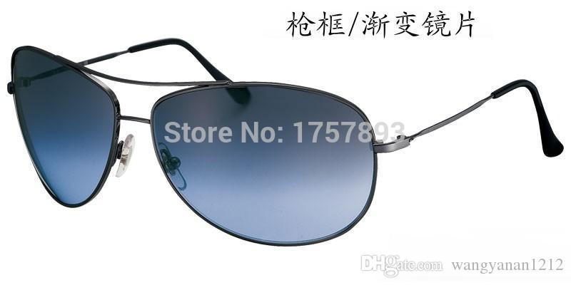 3293 haute qualité antidéflagrant anti-jet trempé verre lunettes de soleil tendance des hommes et des femmes lunettes de soleil