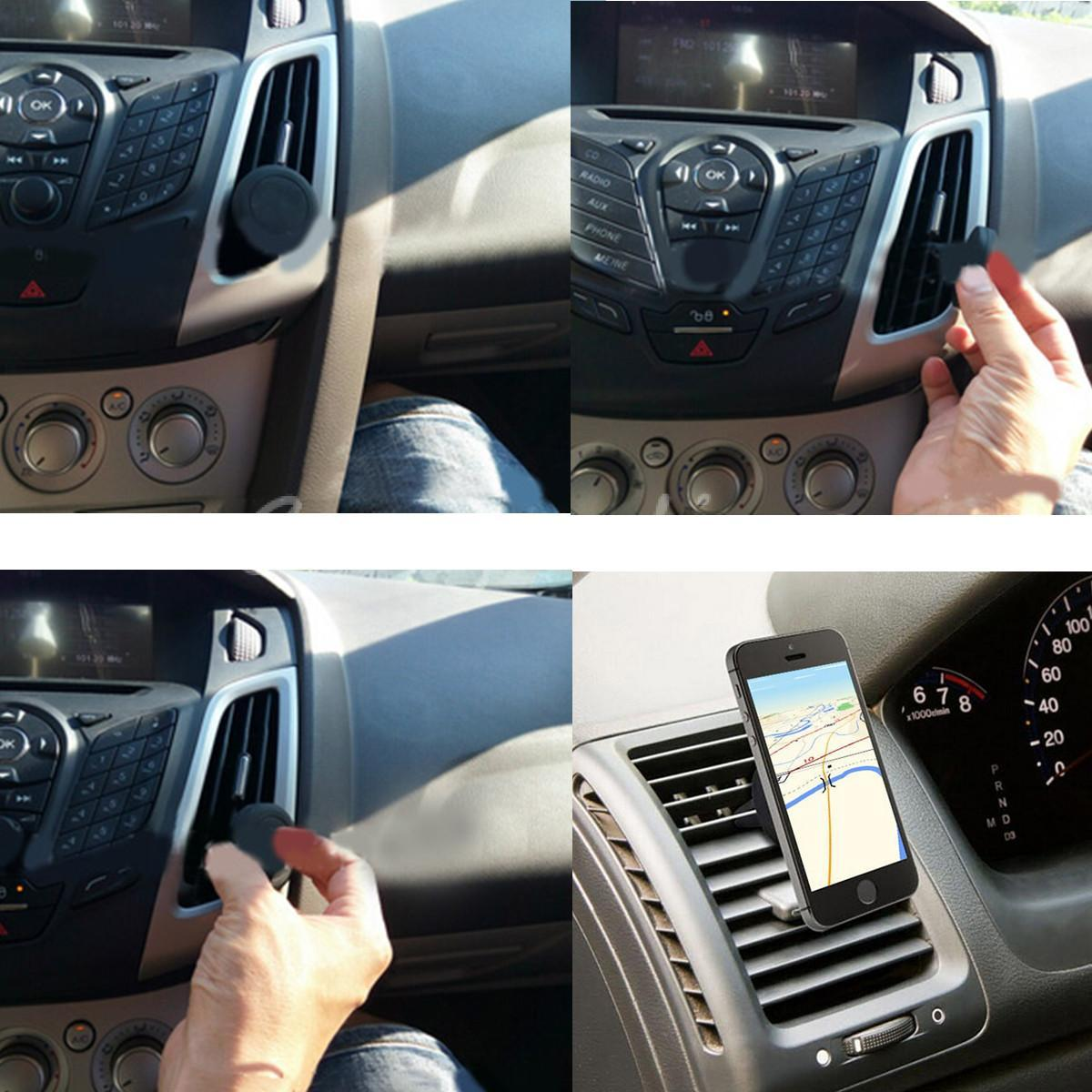 Magnet In Car Phone Holder For Air Vent Mount For All