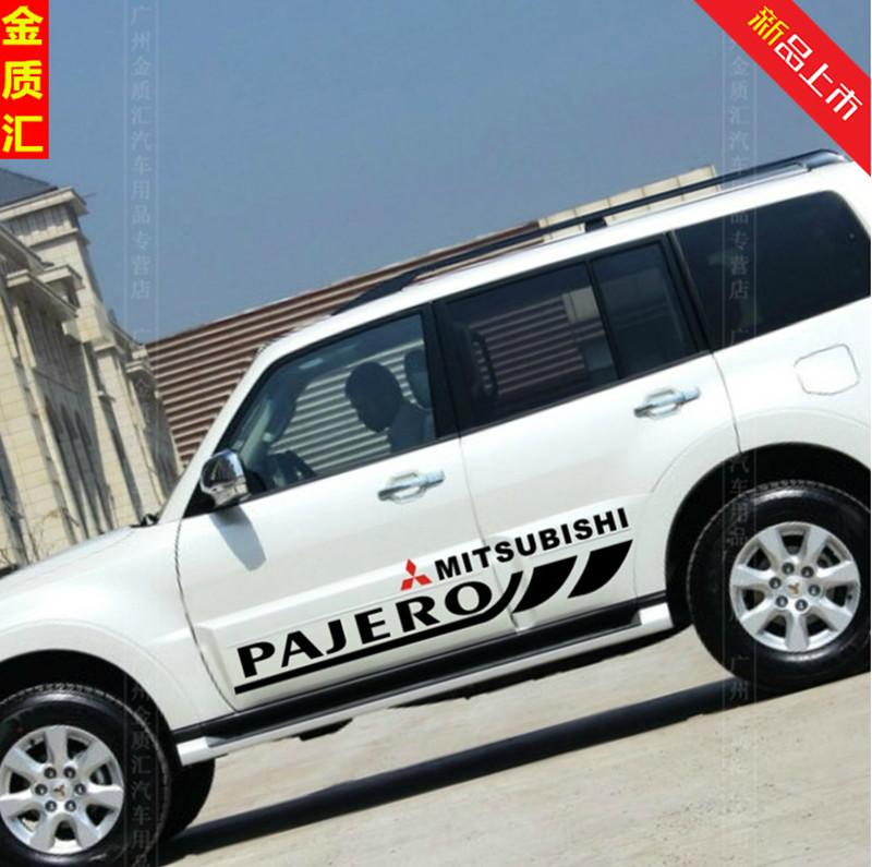 Pajero Sticker Design