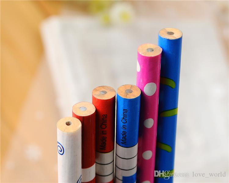 Cute Music Notation Cartoon Wooden Pencil Novelty School Stationery Pencils For Students Christmas Gift 2015 New Arrival