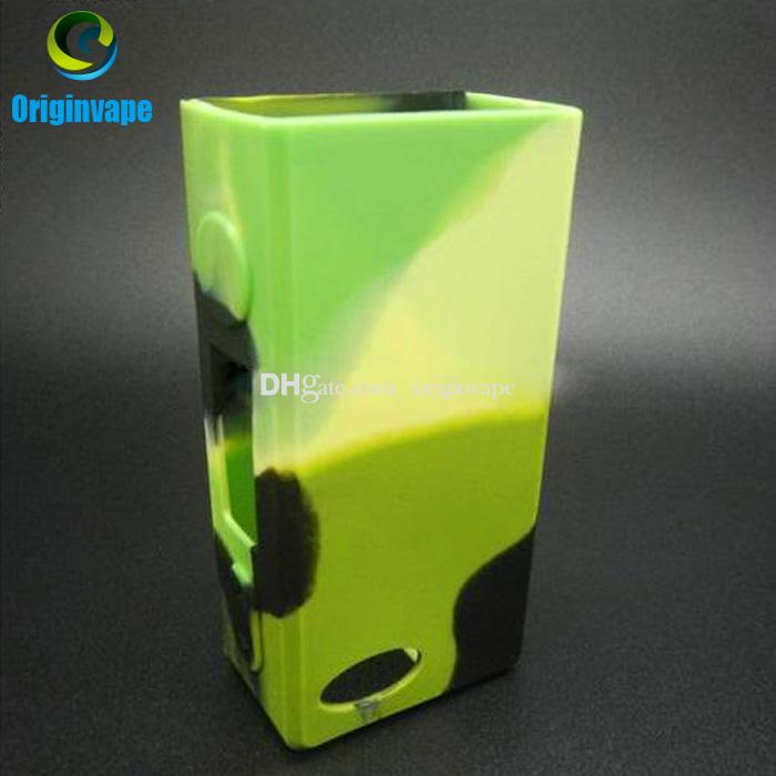 Sigelei 75W Silicon Case Sleeve Skin Cover Case For Sigelei 75w Box MOD Multi Colors Avialable DHL