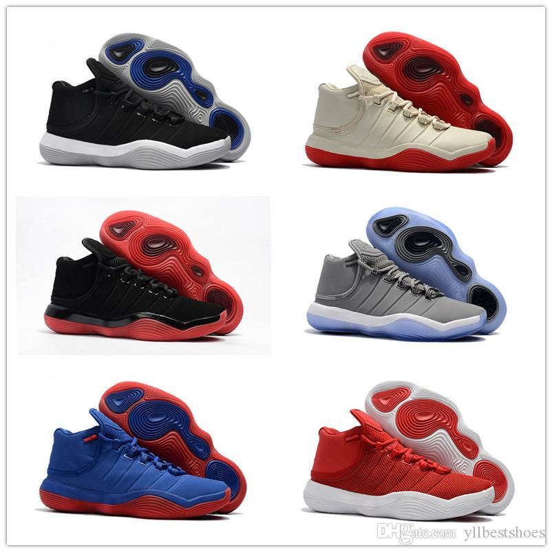 2018 Cheap Sale High Quality Blake Griffin 6 Ep Super.Fly Basketball Shoes  For Good Quality Retro Casual Sports Sneakers Size 40 46 Yellow Shoes Gold  Shoes ...