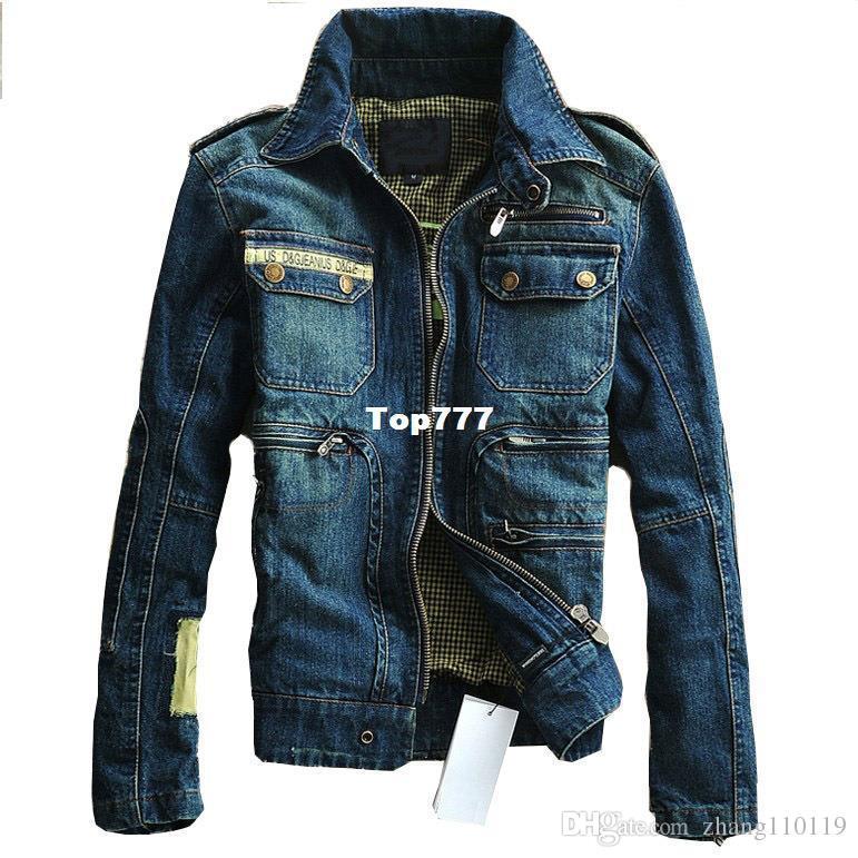 2016 Conception Des Vintage Veste Etats Jeans Acheter Militaire zCqwUxOO
