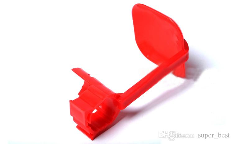 NEW Poultry nipple Drip Cup hanging plastic red heavy FREE SHIPPING