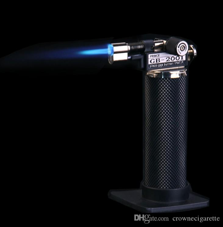 super gb2001 self igniting blue flame micro torch gb2001 piezo jewelry gas burner gas torch melting brazing f soldering cigar lighter