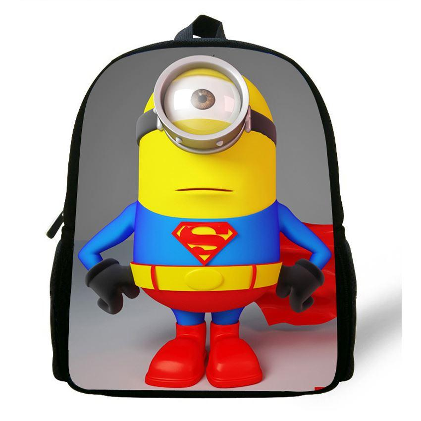 12 Inch Mochila Escolar Minions Backpack Despicable Me Bag Boys Backpacks  For School Girl Age 1 6 Kids School Bag Minion Print Running Backpack  Osprey ...