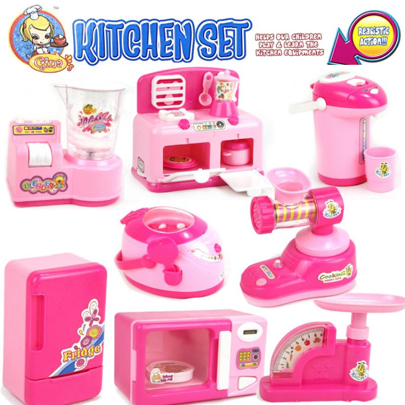 Kitchen toyp quality kids wooden kitchen toy kids play kitchen mini kitchen appliances toys battery operated simulation small appliances baby girls pretend play toy giftsc44d4 from teraionfo