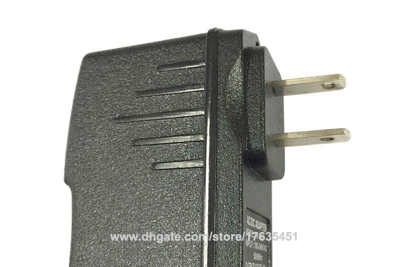 IC Program AC DC 12V 9V 1A Power Supply Adapter 5V 2A US plug DC 5.5mm x 2.1mm High Quality Fedex DHL