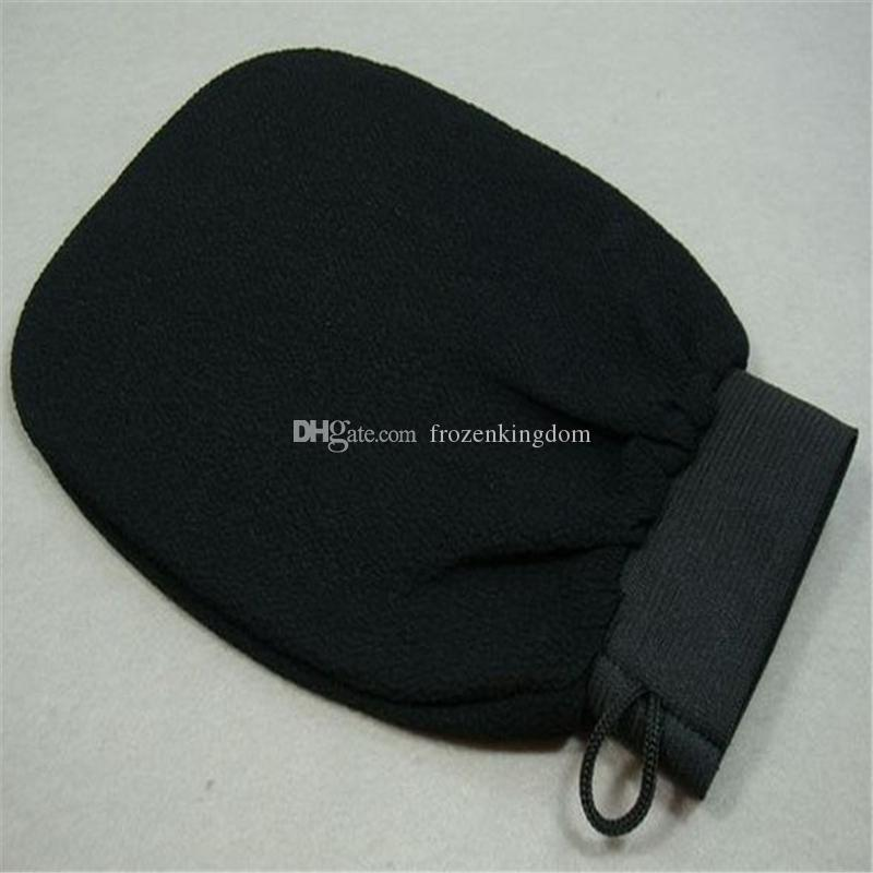 DHL Fedex morocco hammam scrub mitt magic peeling glove exfoliating tan removal mittnormal coarse feeling a179-a183