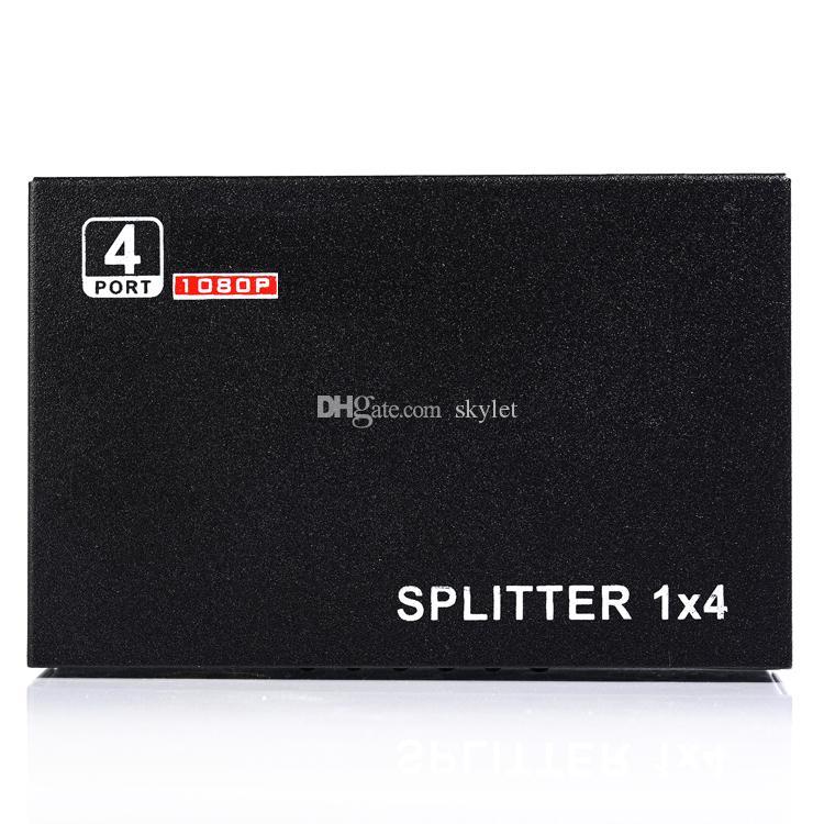 4 Port HDMI Splitter Full HD 1080 P Video HDMI Schalter Splitter Für HDTV STB PS3 DVD Mit Kleinpaket