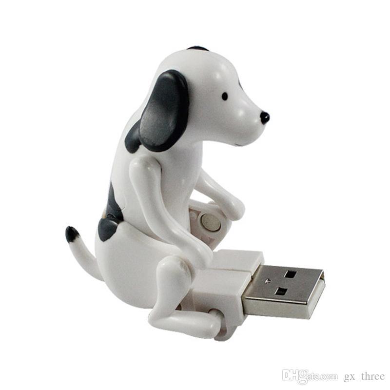 Mini Mignon USB 2.0 Drôle Humping Spot Chien Jouet Soulager La Pression pour Employé De Bureau Meilleur cadeau U disque Pour Halloween De Noël