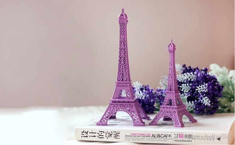 ... 2014 New Purple 3D Paris Eiffel Tower Model Alloy Eiffel Tower Metal  craft for Wedding Gift ... - Cheap Wedding Table Centerpieces Purple Paris Eiffel Tower Model