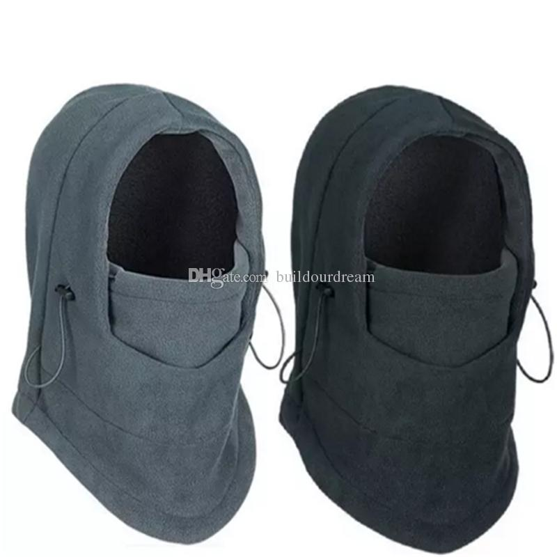 Winter Warm Fleece Beanies Hats For Men Skull Bandana Neck Warmer Balaclava  Ski Snowboard Face Mask e211487c3806