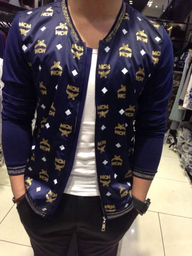 Men New Fashion Korean Hip Hop Style Jacket Mcm Jacket