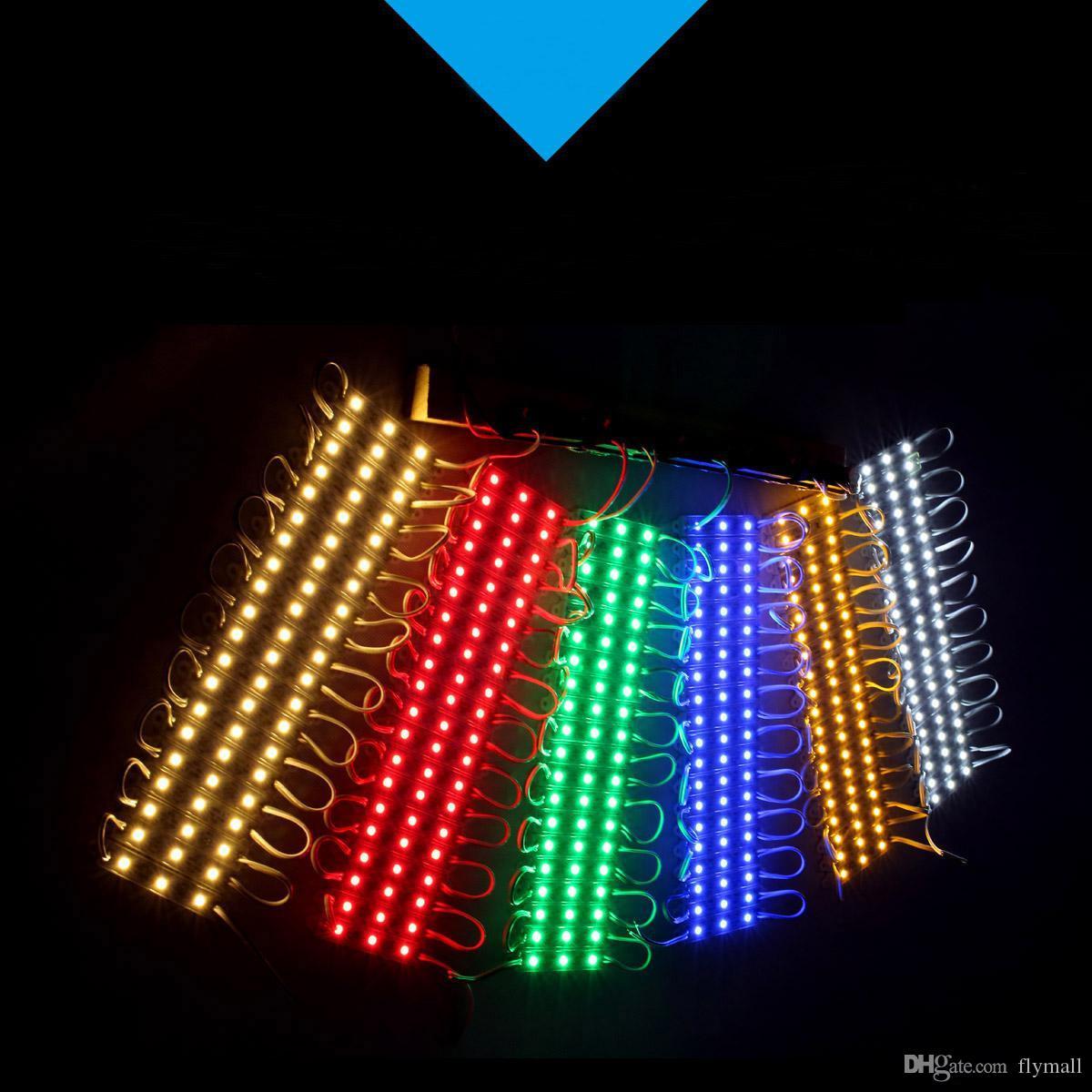 LED 조명 모듈 방수 Superbright SMD5630 LED 모듈 빛, 쿨 화이트 / 따뜻한 화이트 / 레드 / 옐로우 / 블루 / 그린, DC12V, 고품질 LED
