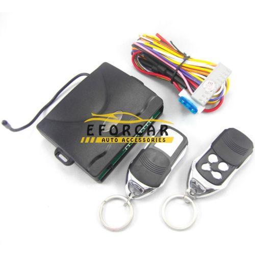 Carro Universal Controle Remoto Kit Fechadura Da Porta Central de Bloqueio de Entrada Sem Chave do carro sistema de alarme de segurança do carro acessórios