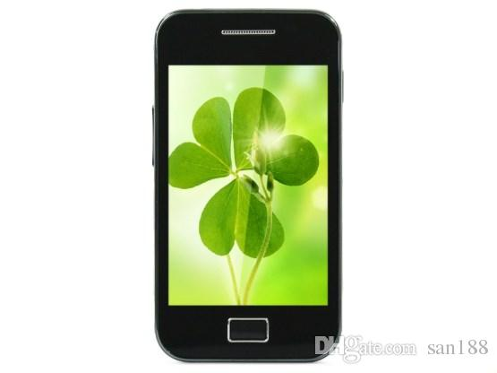 3G WCDMA 5MP bar unlocked phone Camera Android by 3.5 inch 5830 cell phone smart phone with WIFI GPS Bluetooth