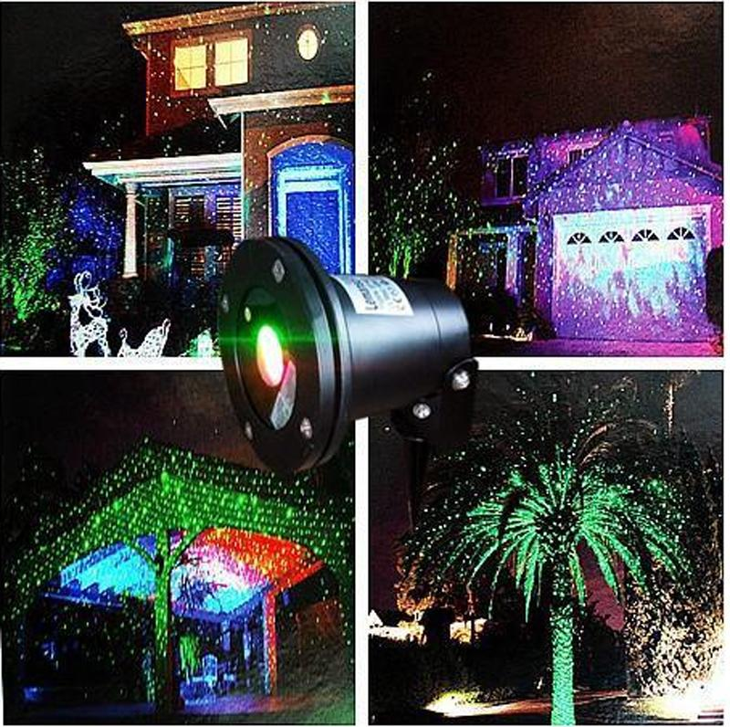 Outdoor ip65 waterproof laser stage lightelf light christmas lights suitable for outdoor gardens woods lawns water housing and other christmas decorations outdoor ip65 waterproof laser stage light aloadofball Images