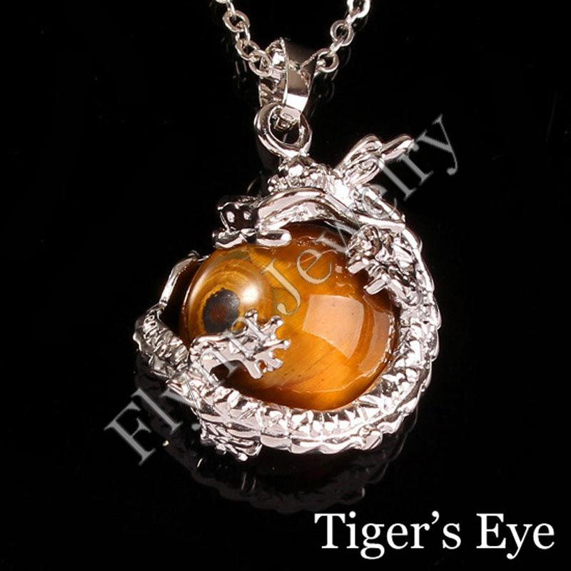 2016 Hot Sale Amethyst Various Natural Stone Super Dragon Ball Bead Energy Pendant Charms Men Amulet Jewelry