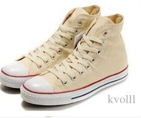 2018 Classic venta caliente Unisex High-Top adultos de lona de los hombres zapatos corrientes es atados zapatos casuales zapatos de la zapatilla de deporte